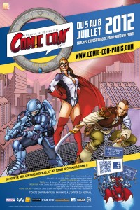 Convention - Comic Con 2012 - Affiche