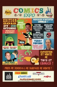 Convention - Paris Comics Expo 2012 - Affiche