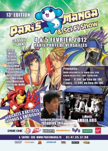 Convention - Paris Manga 2012 - Affiche