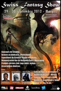 Convention - Swiss Fantasy Show 2012 - Affiche