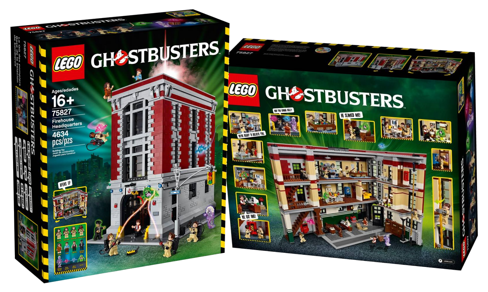 lego nouveaut 1 le qg des ghostbusters la zone. Black Bedroom Furniture Sets. Home Design Ideas
